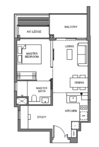 leedon-green-1-bedroom-plus-study-floor-plan-as2-singapore