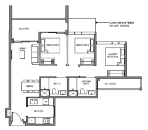 leedon-green-3-bedroom-floor-plan-c1-singapore