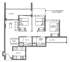 leedon-green-3-bedroom-floor-plan-c1-singapore